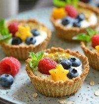Tartelettes granola du petit déjeuner - vegan et IG bas