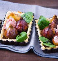 Tartelettes salées aux figues