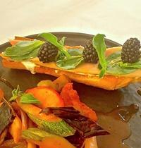 Tartine à l'huître végétale