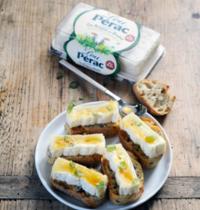 Tartines à la Brique de Brebis Lou Pérac et au miel