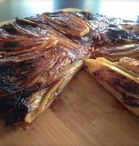 Belgian endive and goat cheese Tarte Tatin