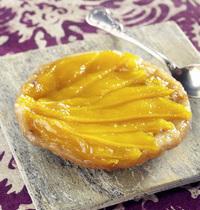 Mango Tatin and lime sorbet