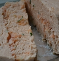 Two-salmon terrine