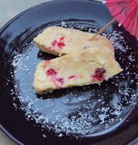 terrine chocolat blanc/framboises