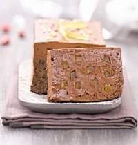 Terrine chocolat-orangettes