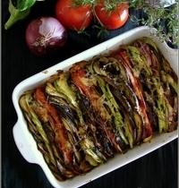 Tian de Légumes d'Eté au Brillat-Savarin