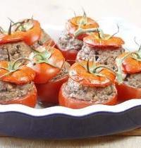 Tomates farcies boeuf olives