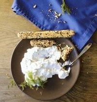 Tzatziki au yaourt grec et à l'aneth