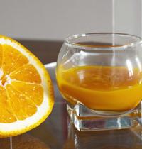 Velouté de potimarron à l'orange