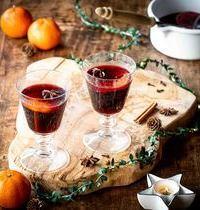Vin chaud de Noël aux agrumes & aux épices