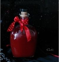 Vinaigre de Fraises aux Baies Roses