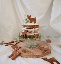 XMAS LEMON & ELDERFLOWER CAKE