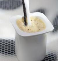 Jean-François Piège's homemade vanilla yoghurt