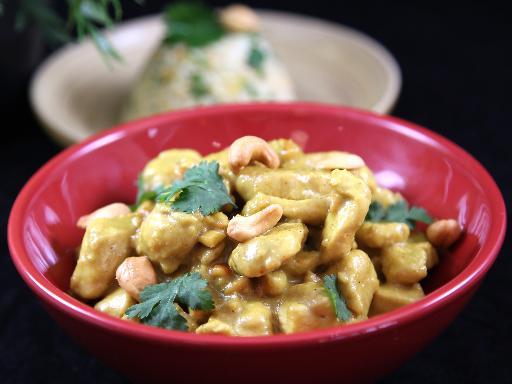 Youmiam Poulet Au Curry Lait De Coco Et Noix De Cajou