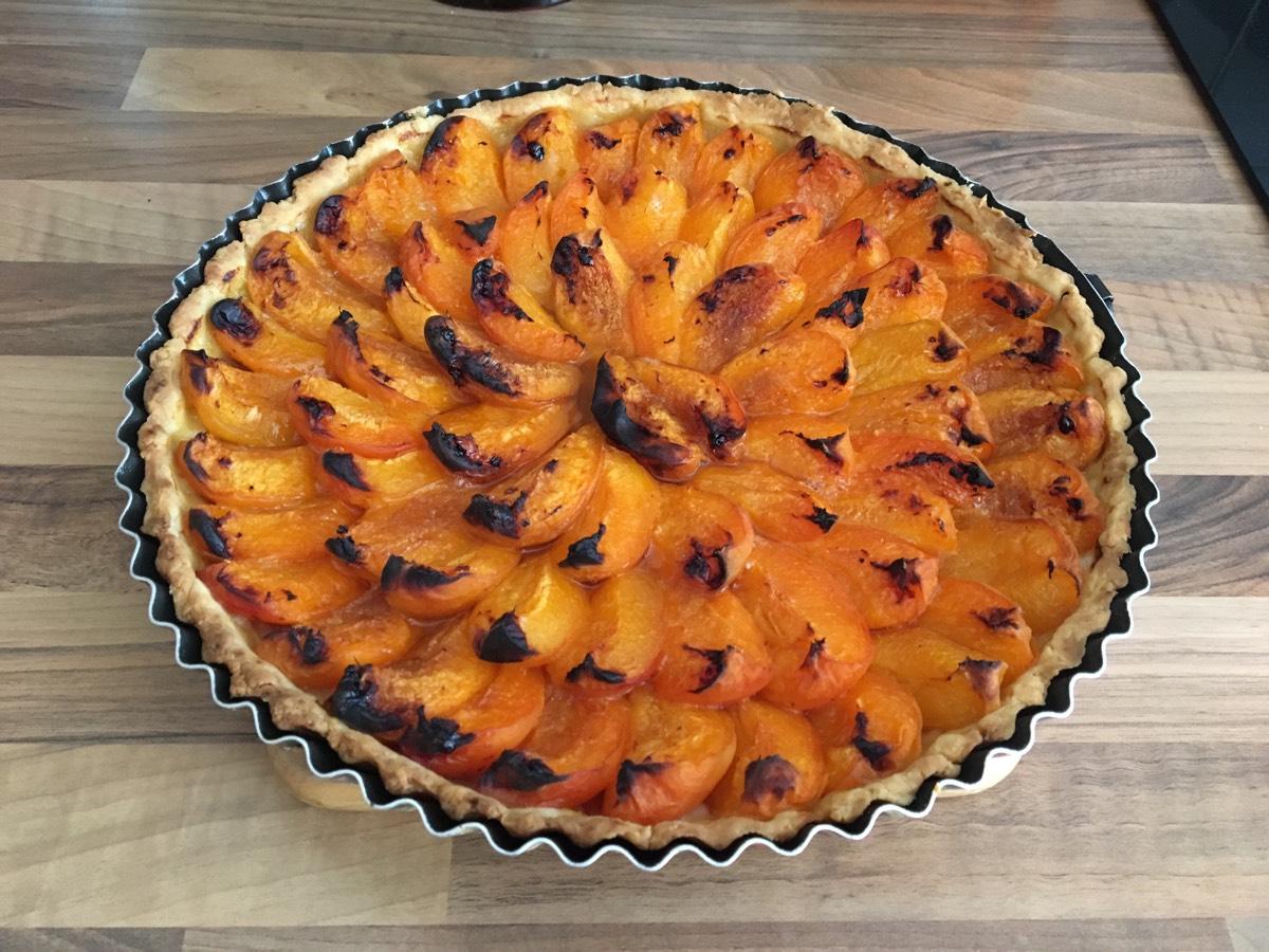 Youmiam Tarte Aux Abricots Pate Maison